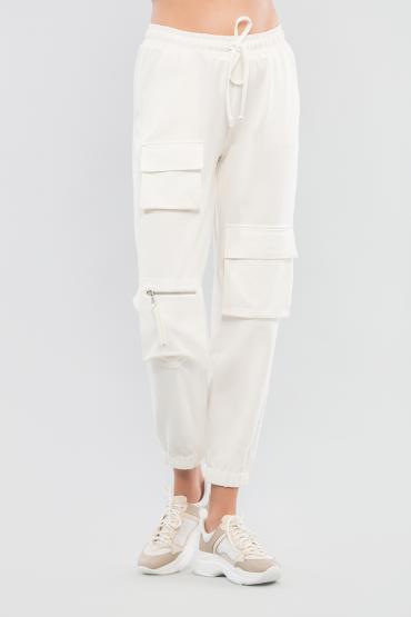 Трикотажные брюки карго