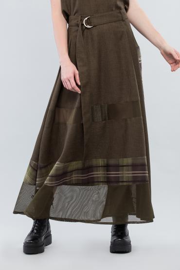 Комбинированная юбка