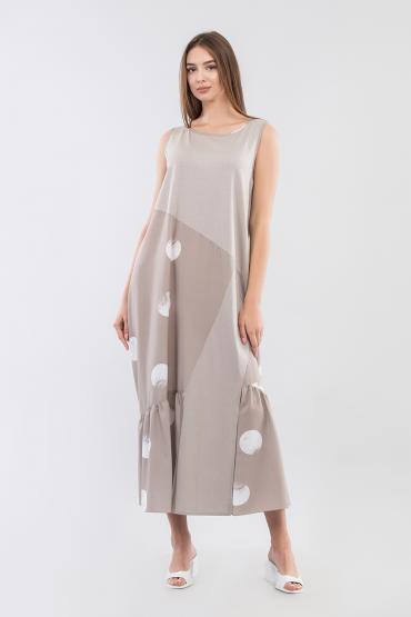 Платье ассиметричного кроя